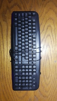 black corded computer keyboard Fairfax, 22033