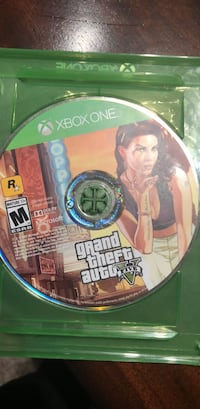 Xbox One Grand Theft Auto Five disc Houston, 77070