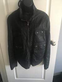 Men's medium leather jacket