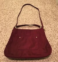 New Talbots Red Convertible Shoulder Hand Bag Purse Tote Chicago, 60611