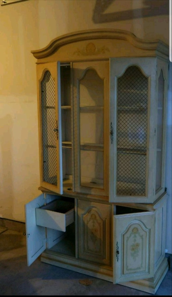 Used Antique Dining Set China Cabinet For Sale In Charlotte Letgo