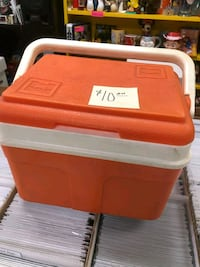 Cooler plastic small size $10