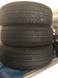 3 brand new 2015 Honda CR-V tires 47 km