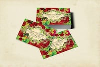 Red hot roses wedding save the date cards or magnets  Matching invitations are available  Vaughan, L4L 1A6
