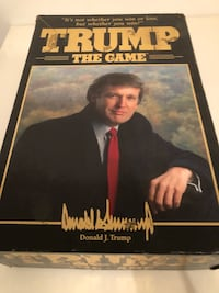 Rare TRUMP The Game Boardgame First Edition $150 Vancouver, V5R 5J4