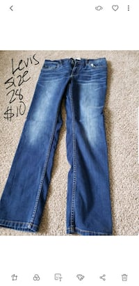 blue-washed denim jeans Zion, 60099