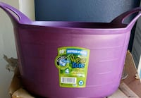 pink and purple plastic container Stockton, 95205