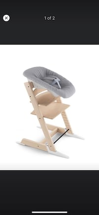 STOKKE Tripp Trapp - Newborn Set - Grey (Chair is not included)