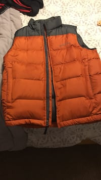 orange-and-black bubble vest Lanham, 20706