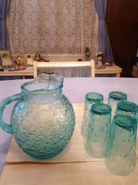 1960's turquoise set Washington, 20018