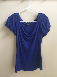 Women's Blue Top (Willi Smith, Size Small) Chantilly, 20152