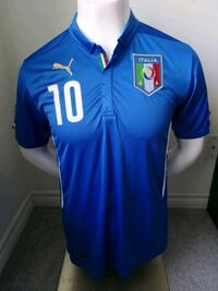 Brand new in tags Italy Home Jersey  $25 Mississauga, L5B 4P5