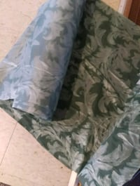 white and green floral fabric sofa Georgina, L4P 3T1