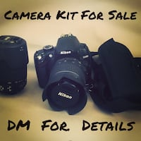 Nikon DSLR Camera With Extras • Open To Reasonable Offers / Possible Trades• Salisbury, 28146