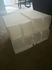 IKEA cloth storage boxes/divider Alexandria, 22314
