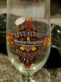 Harley Davidson souvenir glass Woods Cross, 84087