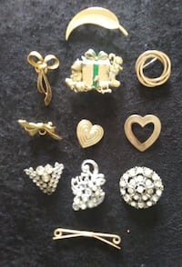 Several Brooches