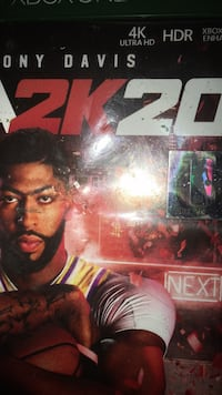 2k20 Disc not messed up Oklahoma City