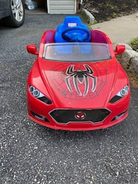 Spiderman 6v Speed Coupe