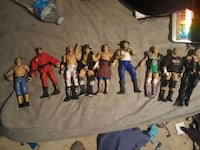 WWE/WWF Action figures make offers  Lombard, 60148