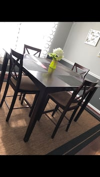 Dining Room Table and 4 Chairs Stafford, 22554