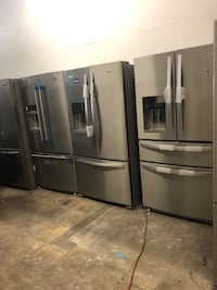 Brand New refrigerators small scratches only , working perfect, great prices Fort Worth, 76119