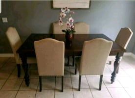 Macy's dining room table set