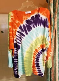 TIE DYED TOP ...xl