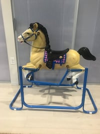 Rocking Horse: hand-painted, good condition, made of plastic Washington, 20002