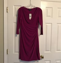 Ralph Lauren Magenta Dress, Size 8 Leonardtown