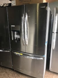 """New 36"""" stainless steel French Doors Refrigerator 6 months warranty"""