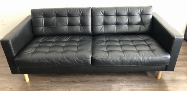 Groovy Leather Sofa Lanskrona Ikea Gmtry Best Dining Table And Chair Ideas Images Gmtryco