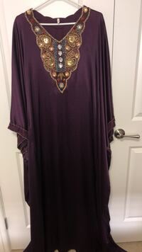 women's maroon long-sleeved dress Edmonton, T6V 0G2