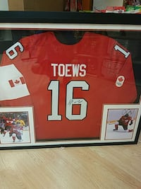 Toews signed Olympic jersey West Chicago, 60185