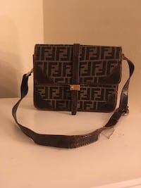 Vintage Fendi Crossbody Satchel New Rochelle, 10801