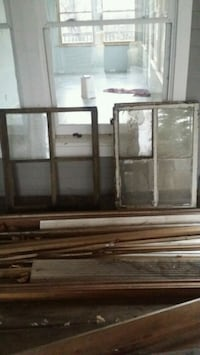 Antique windows for crafts or use ~ 1800s original from Harding house