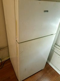 white top-mount refrigerator Compton, 90221