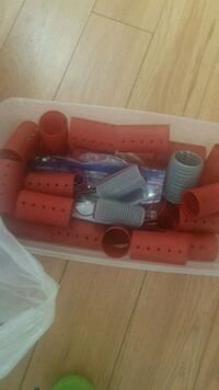 Rollers, clips, perm rods etc