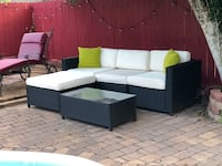 Patio furniture purchased September 2017 for $450 from Amazon New Orleans, 70131