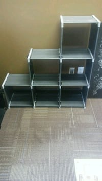Milti tier/ajustable shelves Augusta