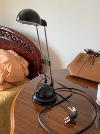 Plug in reading table lamp