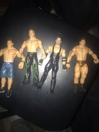 4 wwe action figures Mississauga, L4W 1S9