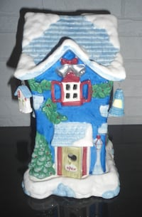 CUTE CHRISTMAS CANDLE HOUSE, NEW IN BOX Blaine