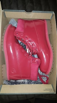 red patent leather timberland work boots with box Omaha, 68110
