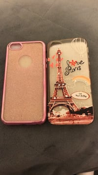 Two white and pink iphone cases Montréal, H1G 1R9