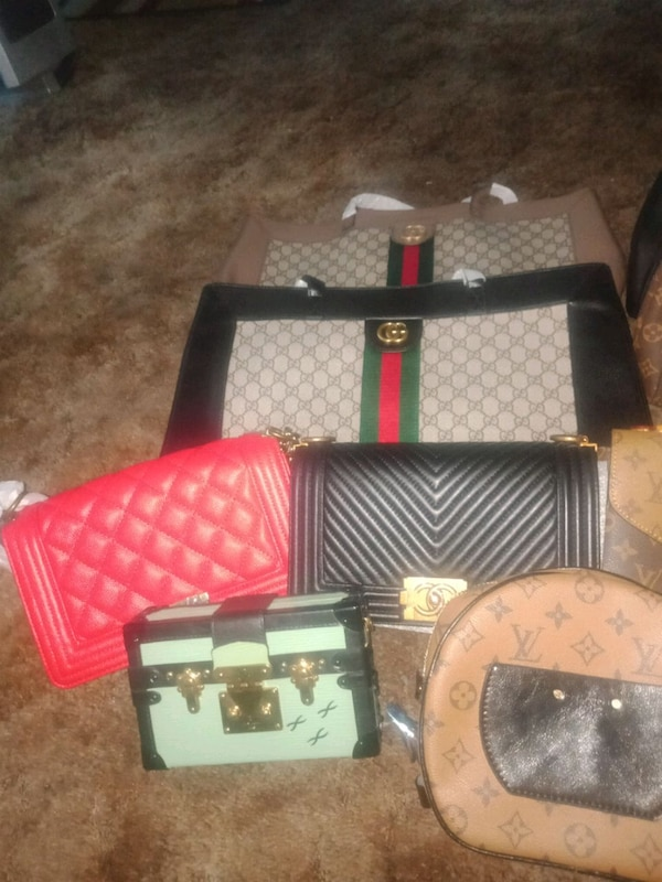 LV Gucci Chanel bundle 15 bags 1