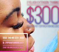 Eyelash extensions beauty Upper Marlboro