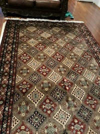 brown and black area rug Gainesville