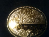 AQHA gold and silver Belt Buckle Clarksville, 37040