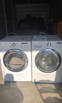 LG Washing machine and dryer duo very good shape, works great.